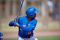 New York Mets Ranfy Adon (11) during a Minor League Spring Training intrasquad game on March 29, 2018 at the First Data Field Complex in St. Lucie, Florida.  (Mike Janes/Four Seam Images)