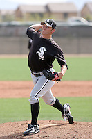 Jacob Marceaux, Chicago White Sox minor league spring training..Photo by:  Bill Mitchell/Four Seam Images.