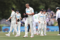 Kyle Jamieson of New Zealand during day one of the second International Test Cricket match between the New Zealand Black Caps and Pakistan at Hagley Oval in Christchurch, New Zealand on Sunday, 3 January 2021. Photo: Martin Hunter / lintottphoto.co.nz