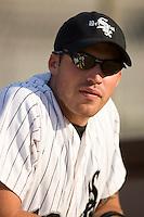 Anthony Casario #18 of the Bristol Sox at DeVault Memorial Stadium June 26, 2009 in Bristol, Virginia. (Photo by Brian Westerholt / Four Seam Images)