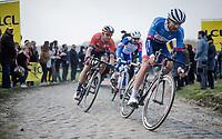117th Paris-Roubaix 2019 (1.UWT)<br /> One day race from Compiègne to Roubaix (FRA/257km)<br /> <br /> ©kramon