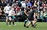 Monday 18th March 2019 | 2019 Schools Cup Final<br /> <br /> Thomas Armstrong during the 2019 Ulster Schools Cup Final between MCB and CCB at Ravenhill Park, Belfast, Northern Ireland. Photo by John Dickson / DICKSONDIGITAL