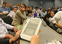 Kindle in Classroom at UVa