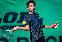 Hilversum, Netherlands, August 6, 2018, National Junior Championships, NJK, Zacharias Alpassa (NED)<br /> Photo: Tennisimages/Henk Koster