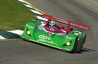 Petit Le Mans, Road Atlanta, Brazelton,GA,USA .30 September,2000  copyright©F.Peirce Williams 2000.The Olive Garden Lola..