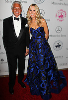 BEVERLY HILLS, CA, USA - OCTOBER 11: George Hamilton, Alana Stewart arrive at the 2014 Carousel Of Hope Ball held at the Beverly Hilton Hotel on October 11, 2014 in Beverly Hills, California, United States. (Photo by Celebrity Monitor)