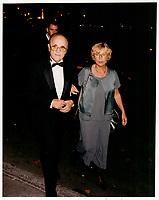 Serge Losique<br />  et Liv Ullmann a la cloture du FFM 1995