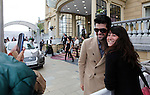 Actor Miguel Angel Muñoz arrives to Maria Cristina Hotel to attend the 61 San Sebastian Film Festival, in San Sebastian, Spain. September 20, 2013. (ALTERPHOTOS/Victor Blanco)