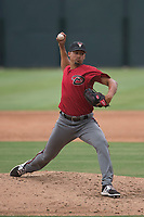 Arizona Diamondbacks relief pitcher Jhoan Duran (36) delivers a pitch to the plate during an Extended Spring Training game against the Colorado Rockies at Salt River Fields at Talking Stick on April 16, 2018 in Scottsdale, Arizona. (Zachary Lucy/Four Seam Images)