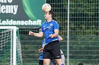 Kopfball Jonas Lukas (Trebur) - Königstädten 19.09.2021: Alemannia Königstädten vs. SG Trebur-Astheim