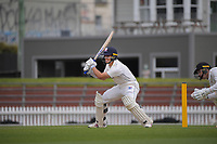 Mark Chapman bats during day four of the Plunket Shield match between the Wellington Firebirds and Auckland Aces at the Basin Reserve in Wellington, New Zealand on Tuesday, 17 November 2020. Photo: Dave Lintott / lintottphoto.co.nz