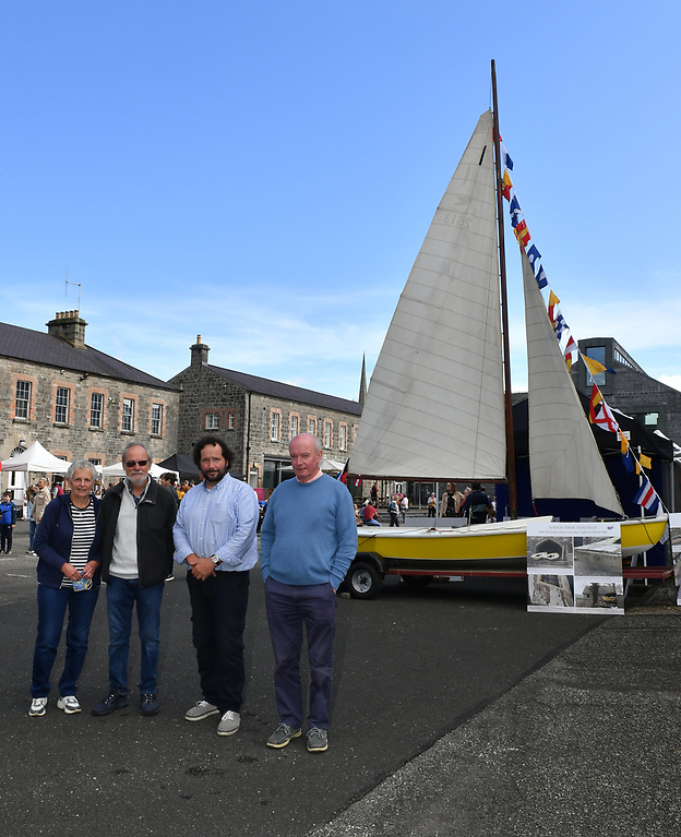 From left to right: Joy and Colin Honeyford from Bangor with Brian Osborne and Fred Ternan Photo: Andrew Paton