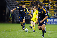 26 SEPTEMBAR 2009:  #10 Landon Donovan of the LA Galaxy and #12 Eddie Gaven, Columbus Crew forward during the Los Angeles Galaxy at Columbus Crew MLS game in Columbus, Ohio on May 27, 2009.