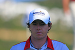Rory McIlroy (N.IRL) walks to the 4th tee during the morning session on Day 3 of the Volvo World Match Play Championship in Finca Cortesin, Casares, Spain, 21st May 2011. (Photo Eoin Clarke/Golffile 2011)
