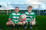 Pat O'Neill and his son Luke who both scored  for Killarney Celtic in the same game last weekend