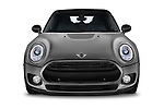 Car photography straight front view of a 2018 Mini Clubman Cooper Kensington 5 Door Wagon