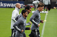 Mahmoud Dahoud (Deutschland Germany), Emre Can (Deutschland Germany), Robin Koch (Deutschland Germany) <br /> - 05.10.2020: Training der Deutschen Nationalmannschaft, Suedstadion Koeln<br /> DISCLAIMER: DFB regulations prohibit any use of photographs as image sequences and/or quasi-video.
