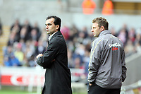 Pictured: Roberto Martínez Manager of Swansea City <br /> Re: Coca Cola Championship, Swansea City Football Club v Southampton at the Liberty Stadium, Swansea, south Wales 25 October 2008.<br /> Picture by Dimitrios Legakis Photography, Swansea, 07815441513