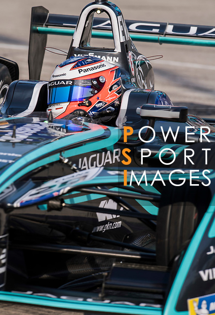 Mitch Evans of New Zealand from Panasonic Jaguar Racing competes during the FIA Formula E Hong Kong E-Prix Round 2 at the Central Harbourfront Circuit on 03 December 2017 in Hong Kong, Hong Kong. Photo by Victor Fraile / Power Sport Images