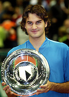 20-02-2005,Rotterdam, ABNAMROWTT , Federer  winnaar