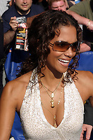 HALLE BERRY AT THE LATE SHOW WITH DAVID LETTERMAN TAPING INTHE ED SULLIVAN THEATRE, NEW YORK CITY 07/20/2004<br /> Photo By John Barrett/PHOTOlink /MediaPunch