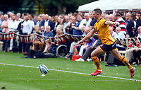 Thursday 9th September 20218 <br /> <br /> John Cooney converts during the pre-season friendly between Saracens and Ulster Rugby at the Honourable Artillery Company Grounds, Armoury House, London, England. Photo by John Dickson/Dicksondigital