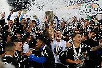PORTO ALEGRE, RS, 23.05.2021 - GREMIO - INTERNACIONAL - O Grêmio é Campeão Gaúcho 2021, na partida entre Grêmio e Internacional, pela final do Campeonato Gaúcho 2021, no estádio Arena do Grêmio, em Porto Alegre, neste domingo (23).