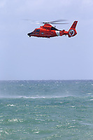 FORT LAUDERDALE, FLORIDA - MAY 05:  Eurocopter HH-65 Dolphin performs at The Fort Lauderdale Air Show on May 5, 2018 in Fort Lauderdale, Florida. <br /> <br /> <br /> People:  Eurocopter HH-65 Dolphin