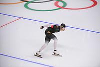 OLYMPIC GAMES: PYEONGCHANG: 11-02-2018, Gangneung Oval, Long Track, 5000m Men, Patrick Beckert (GER), ©photo Martin de Jong
