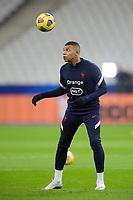 17th November 2020; Stade de France, Paris,  France; UEFA National League international football, France versus Sweden; France warm up for MBAPPE KYLIAN (France)
