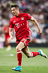 Robert Lewandowski of FC Bayern Munich during their 2016-17 UEFA Champions League Quarter-finals second leg match between Real Madrid and FC Bayern Munich at the Estadio Santiago Bernabeu on 18 April 2017 in Madrid, Spain. Photo by Diego Gonzalez Souto / Power Sport Images