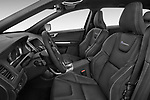 Front seat view of 2017 Volvo XC60 R-Design 5 Door SUV Front Seat  car photos