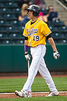 Jake More (19) of the Western Illinois Leathernecks during a game vs. the Missouri State Bears at Hammons Field in Springfield, Missouri;  March 20, 2011.  Photo By David Welker/Four Seam Images