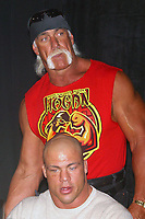 Wrestlemania XIX Press Conference  Kurt Angle Hulk Hogan 2003                      By John Barrett/PHOTOlink