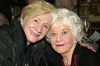 NEW YORK, NY- FEBRUARY 21: Olympia Dukakis and Charlotte Rae celebrate the CD release of Charlotte Rae: Songs I Taught My Mother, held at Barnes and Nole, on February 21, 2007, in New York City. Credit: Joseph Marzullo/MediaPunch