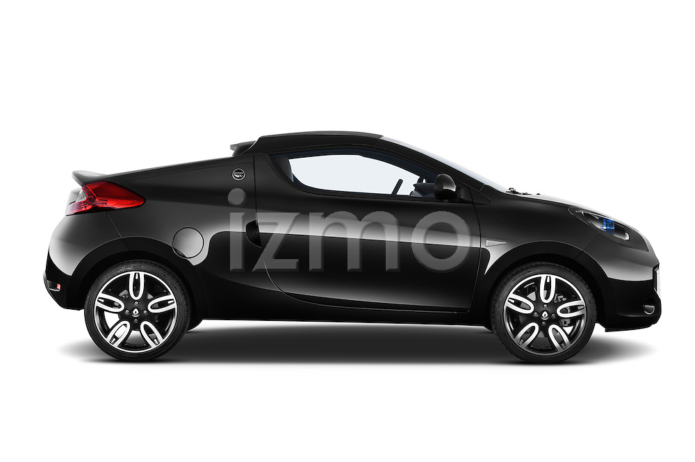 Passenger side profile view of a 2010 Renault Wind Convertible