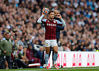 3rd October 2021; Tottenham Hotspur Stadium. Tottenham, London, England; Premier League football, Tottenham versus Aston Villa: Matty Cash of Aston Villa