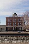 Mountain Home, Idaho, Bengochea Block, Railroad Hotels, commercial district,