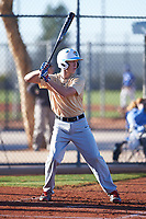 Matthew Cook (50), from Mansfield, Texas, while playing for the Brewers during the Under Armour Baseball Factory Recruiting Classic at Red Mountain Baseball Complex on December 29, 2017 in Mesa, Arizona. (Zachary Lucy/Four Seam Images)