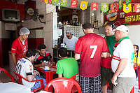 A local bar offering food and beer near the Arena Fonte Nova