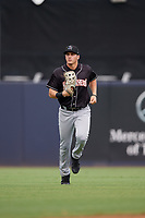Jupiter Hammerheads right fielder JJ Bleday (21) during a Florida State League game against the Tampa Tarpons on July 26, 2019 at George M. Steinbrenner Field in Tampa, Florida.  Tampa defeated Jupiter 2-0 in the first game of a doubleheader.  (Mike Janes/Four Seam Images)