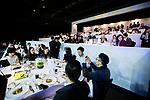 Guests at the Masters Club during the Longines Masters of Hong Kong at AsiaWorld-Expo on 10 February 2018, in Hong Kong, Hong Kong. Photo by Yuk Man Wong / Power Sport Images