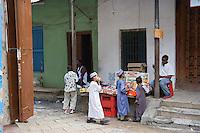 Afrique/Afrique de l'Est/Tanzanie/Zanzibar/Ile Unguja/Stone Town: dans les rues de la vieille ville