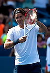 Roger Federer (SUI) Advances To Final Over Stanislas Wawrinka (SUI) 7-6(4), 6-3