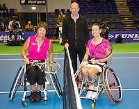15-12-12, Rotterdam, Tennis Masters 2012, Marjolein Buis  and  Sharon Walraven