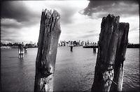 Manhattan skyline from New Jersey<br />