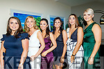 Causeway GAA hurling club victory social last Saturday night in the Ballyroe Heights hotel, Tralee was enjoyed by L-R Zara Ashe, Frieda Leahy, Ali Feely, Chloe Carroll, Jullian O'Leary with Jen O'Lehan.