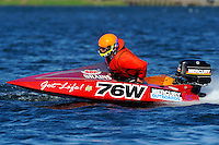 76-W (runabout)....Stock  Outboard Winter Nationals, Ocoee, Florida, USA.13/14 March, 2010 © F.Peirce Williams 2010