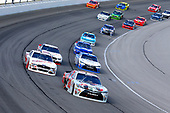 NASCAR XFINITY Series<br /> TheHouse.com 300<br /> Chicagoland Speedway, Joliet, IL USA<br /> Saturday 16 September 2017<br /> Erik Jones, NBA 2K18/GameStop Toyota Camry and Cole Custer, Haas Automation Ford Mustang<br /> World Copyright: Russell LaBounty<br /> LAT Images