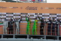 PODIUM LMP3<br /> <br /> WINNER #13 INTER EUROPOL COMPETITION (POL) LIGIER JS P320  NISSAN LMP3  NIGEL MOORE (GBR) MARTIN HIPPE (DEU)<br /> <br /> 2nd place #11 EUROINTERNATIONAL  (USA) LIGIER JS P320 NISSAN LMP3 NIKO KARI (FIN) NICOLAS MAULINI (CHE) JACOPO BARATTO (ITA)<br /> <br /> 3nd place #2 UNITED AUTOSPORTS (GBR) LIGIER JS P320 NISSAN LMP3 WAYNE BOYD (GBR) TOM GAMBLE (GBR) ROBERT WHELDON (GBR)